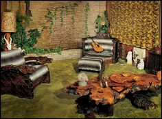 Elvis Presley's Graceland, Jungle Room - Memphis, TN