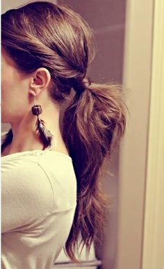 cool pony tail hairstyles for holidays teenage girls