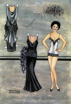 5ea11808bd3 Bente Fredso paper doll of Marguerite Viby 1
