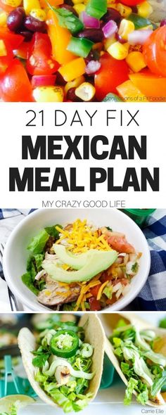 If you love to spice things up this 21 Day Fix Mexican meal plan is perfect for you! Try out some new recipes without straying from your healthy lifestyle!