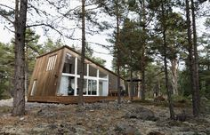 Architecture. Holick Sea Resort, Sweden  November 17, 2011    Inspired by the natural elements of northern Sweden, Mats Edlund and Henrietta Palmer have realised a design concept that offers the promise of a more holistic way of life.  Photographer: Jacob Nordström  Author: Domingo Antonio Robledo