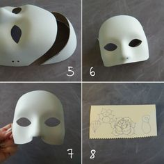 I was looking for a Halloween costume that didn't require a short dress. I decided to go with a Day of the Dead themed mask (pair wi...