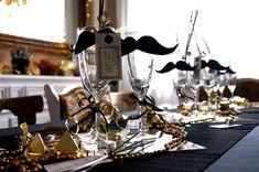 Zauberergeburtstag zauberparty zaubererparty dekoration partydeko gold schwarz wei deko - Silvester deko depot ...