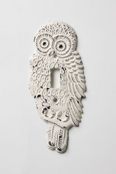 My owl obsession has progressed so far I want a owl light switch