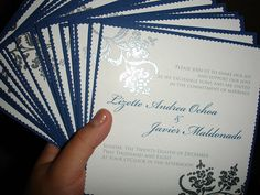 Handmade Custom Wedding Invitations by [kmj], via Flickr
