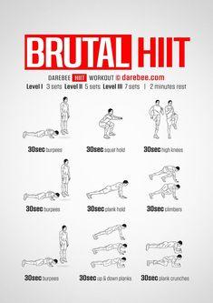 Brutal HIIT workout