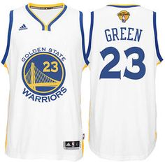 Draymond Green Jersey  adidas  The Finals  White Swingman  23 Golden State  Warriors f729bb540