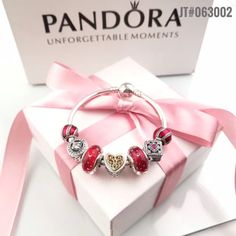 Pick one of yours :authentic pandora... in our store here!http://www.charmsilvers.com/products/authentic-pandora-luxury-bangle-charm-bracelet-with-7pcs-red-theme-charms?utm_campaign=social_autopilot&utm_source=pin&utm_medium=pin