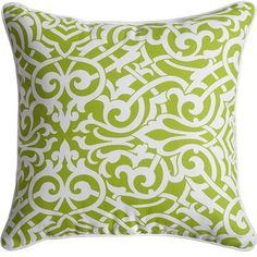 Pavillion Pillow - Green --i think its available in yellow. if it is, i want the yellow. 2 por favor.