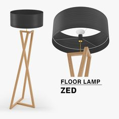 While looking for a lamp for your house, your choices are nearly endless. Get the most suitable living room lamp, bedroom lamp, table lamp or any other style for your selected area. Rustic Floor Lamps, Diy Floor Lamp, Wooden Floor Lamps, Floor Lamp Shades, Rustic Lamps, Wooden Lamp, Luminaria Diy, Traditional Lamps, Pipe Lighting