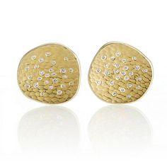 Barbara Heinrich Round Glacier Earrings