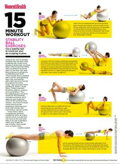 Core Integrity with Cat: Fitball Workout
