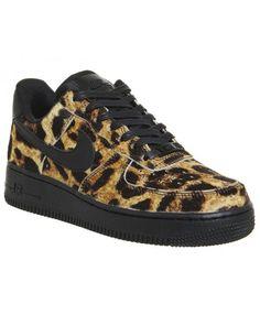 4b01cb79227 Nike Air Force 1 Lo Leopard Black Sail Shoes UK Sale