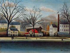 Peintre Henri Rousseau ~ post-impressionniste