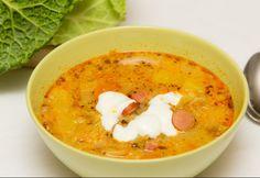 A frankfurti leves olyan gazdag, hogy akár főétel is lehetne. Diet Recipes, Cooking Recipes, Healthy Recipes, Baked Rigatoni, Best Meatballs, Hungarian Recipes, Hungarian Food, Food Words, Meatloaf Recipes