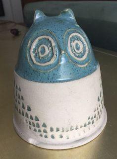 Bennington Pottery Vermont Owl Bank Vintage #1540   eBay