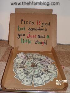 17th Birthday Thehfamblog Diy Fun Way To Gift Money 17th Birthday Gifts Birthday Gifts For Boys 18th Birthday Ideas For Boys