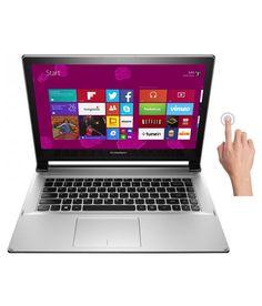 Lenovo Ideapad Flex 2-14 (59-429728) Notebook (4th Gen Core i3- 4GB RAM- 500GB HDD+8GB SSD- 35.81cm (14.1) TS- Win 8.1) (Grey)