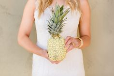 Cavin Elizabeth Tropical Estate Bride Pineapple Wedding Decor Couture Events