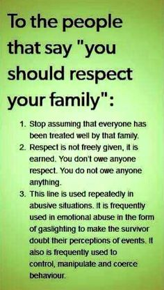 A younger family member is Not responsible for an older family members emotional state. That's in itself is emotional abuse.