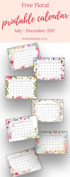 Grab your Free Floral Printable 2017 Calendar - monthly layout for the rest of the year. While you're at the post, get 9 extra Free Planner Printables, planner tabs, planner stickers & even a cleaning schedule printable. Still searching for a printable calendar free 2017? This is Part of 10 Free Planner Printables 2017. Download the printable calendar free or choose a floral version in the same post. This printable calendar monthly layout is perfect for back to school to help keep your…