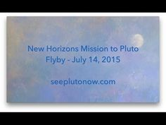 """Oh Pluto. (Producers: Werth, Lavein) A new song by folk musician Craig Werth called """"Oh Pluto"""" is """"inspired by NASA's New Horizons Mission to Pluto and the quest for knowledge and understanding in the human spirit,"""" says Werth. The song underscores how we want to """"grow our understanding, to learn all that we can."""""""