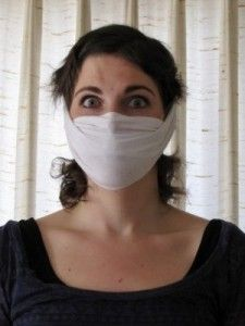 How A T-shirt Could Save Your Life In A Disaster - The Homestead Survival - how to turn a t shirt into a dust mask that can save your respiratory system during a disaster that stirs up debris long enough for you to evacuate the area. SHTF