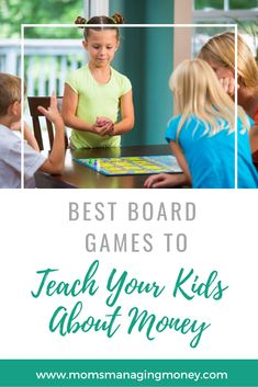 Teaching kids about money is easy when you make it a game. Here are 6 games about money you can play with kids to teach them about savings, budgeting, and more. Physical Activities For Kids, Creative Activities For Kids, Divorce And Kids, Board Games For Kids, Co Parenting, Budgeting Money, Financial Literacy, Money Management, Kids House