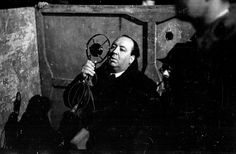 Director Alfred Hitchcock, on set | Jamaica Inn (1939), behind the scenes