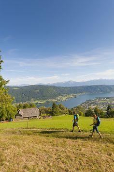 Wandern rund um den Ossiacher See (c) Franz Gerdl #hike #mountain #lake #Sport #nature #summer #sun Mountains, Sport, Nature, Summer, Travel, Hiking, Round Round, Deporte, Naturaleza