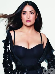 Salma Hayek Body, Salma Hayek Pictures, Foto Gif, Gq Magazine, Glamour, Up Girl, Belle Photo, Lady, Sexy Women