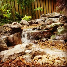 A beautiful view, a wonderful sound and low maintenance to boot. Pondless Waterfeatures are the 'cats meow'!