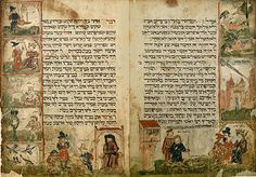 Floersheim Haggadah, Germany, 15th century.
