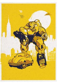 Bumblebee - Transformers - 2ToastDesign