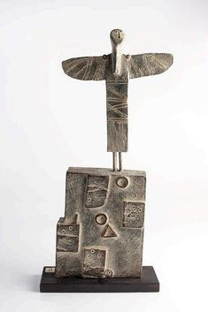 John Maltby (British, b.1936) Angel and Sea Wall,