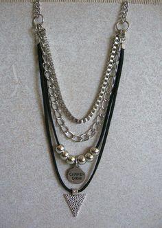 Bohemian Jewelry, Beaded Jewelry, Unique Jewelry, Vintage Jewelry, Handmade Jewelry, Jewelry Necklaces, Jewelry Design, Bracelets, Diy Collier