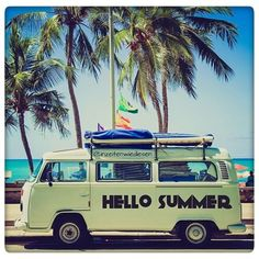 Hello Summer VW Bus.