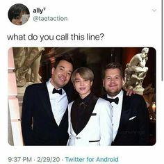 Cursed jim line Hoseok, Seokjin, Namjoon, Taehyung, Bts Memes Hilarious, Bts Tweet, About Bts, Bts Group, Meme Faces