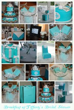 Over The Top Weddings and Events: Breakfast at Tiffany's Bridal Shower