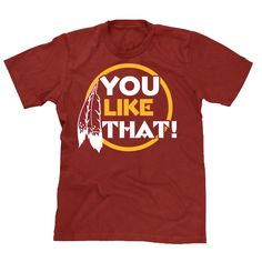 Share Quarterback Kirk Cousins enthusiasm after orchestrating the best comeback win in Redskins franchise history. This shirt portrays his quote as he victoriously marched past reports and into the lo
