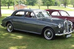Wolseley 6/90 1958. Built between 1954 and 1959 they had 2.6L Six-Clyinder Straight Six engines.