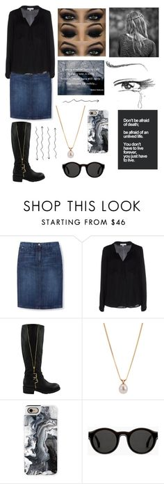 """""""Funeral today#269"""" by tkcostner ❤ liked on Polyvore featuring Boden, Milly, Other, Casetify and Mykita"""