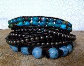 Wrap beaded bracelets