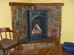 Fireplaces Portfolio: Faux Panels Photos and Design Ideas