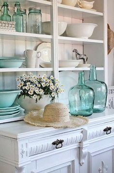 Shabby Chic Decor brilliant and splendid plan - Elegant images. shabby chic decor coastal fun and brilliant example number presented on this day 20190104 , Decor, Coastal Decor, Beach Interior, Cottage Style, Coastal Kitchen, Beach House Interior, Cottage Decor, Beach Cottage Decor, Shabby Chic Kitchen
