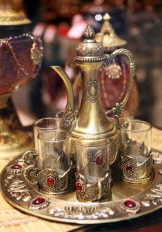 Antique Silver Tea Sets [Slideshow]