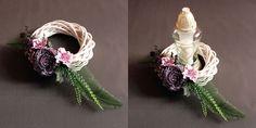 Parviflora - Florystyka żałobna - bukiety ślubne, wiązanki ślubne, kwiaty do ślubu - Łódź Diy Flowers, Wreaths, Candles, Womens Fashion, Floral, Jewelry, Decor, Crowns, Jewlery