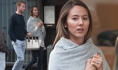 The Formula 1 star stepped out for a shopping day in London with his glamorous fiancee on Tuesday.