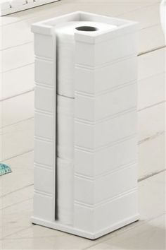 Buy White Toilet Roll Stacker from the Next UK online shop
