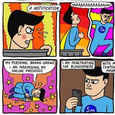 Social Media Man!